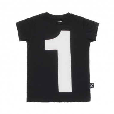 Nununu T-shirt nera unisex cotone by Nununu nu2104nununu19