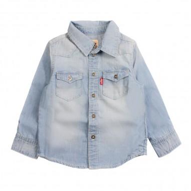 Levi's Camicia denim jeans per bambino barsto by Levi's Kids nn1203746levis19