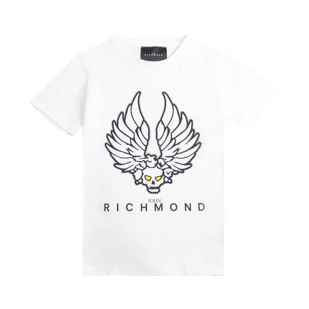 87a1e3ed Boy white skull t-shirt by John Richmond Junior - Ivana Vesprini