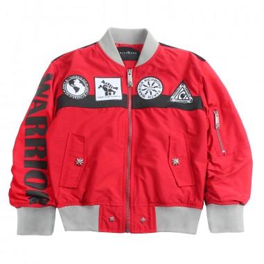 Richmond Boys red bomber jacket by John Richmond Junior rbp19150gb19rich19