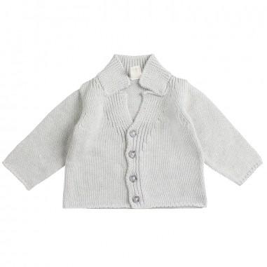 Filobio Baby grey knitted cardigan by Filobio dylancc29filo19