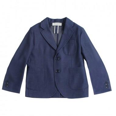 Paolo Pecora Boy blue textured blazer pp1858paolo19