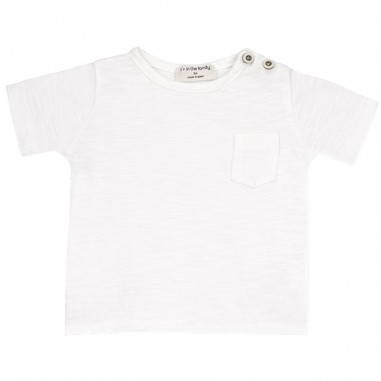 1+ In the Family Newborn white jersey t-shirt domenicooffwhite19onemore