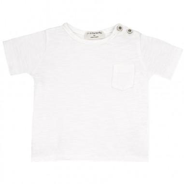1+ In the Family T-shirt bianca neonato jersey domenicooffwhite19onemore