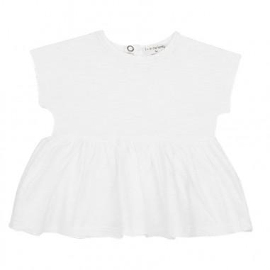ea249b37dbc8 1+ In the Family - Baby girl white cotton blouse - Ivana Vesprini