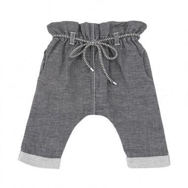 1+ In the Family Pantalone neonata chambray grigio adelaida19onemore