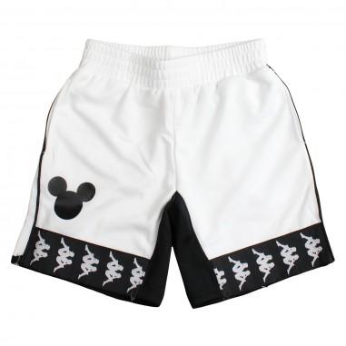 ae5b89bb5b76 Kappa Kids Boys white soft acetate bermuda shorts - Kappa Kids  304kgp0925kappa19