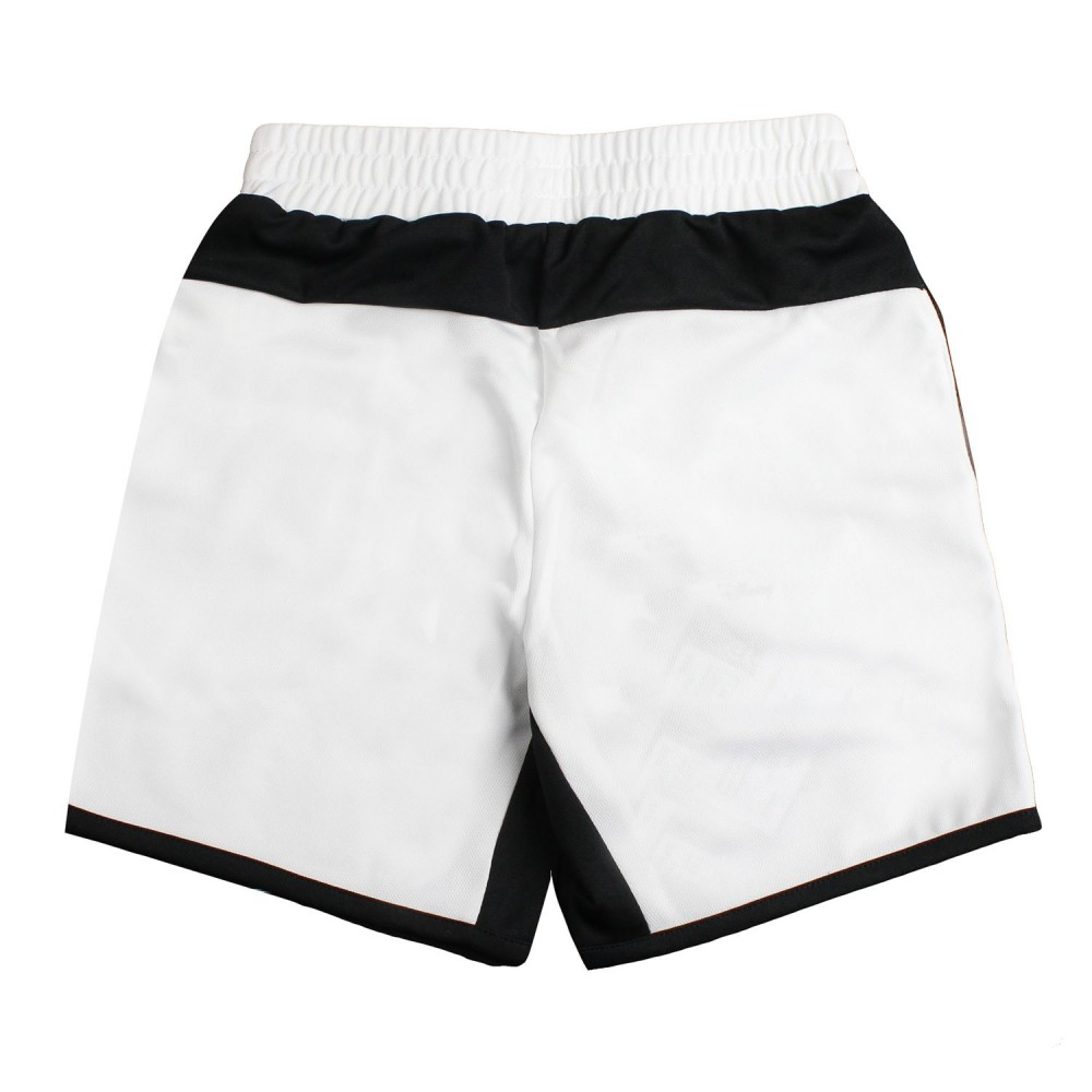 7753ee5e3614 Boys white soft acetate bermuda shorts - Kappa Kids - Ivana Vesprini