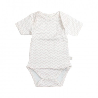 Filobio Body neonata bianco e rosa by Filobio bmcto29rosfilo19