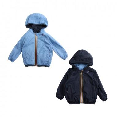 be4751fec72 Unisex blue & azure windbreaker jacket by K-way Kids