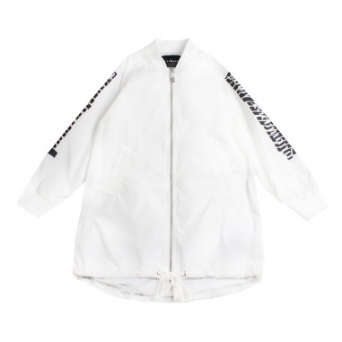 Richmond Parka spolverino bianco bambina  by John Richmond Kids rgp19069pk19rich19