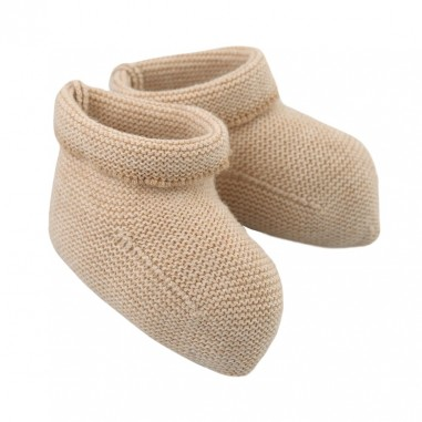 Natura Pura Ecru organic cotton baby shoes by NaturaPura BB17031beigenaturapura19