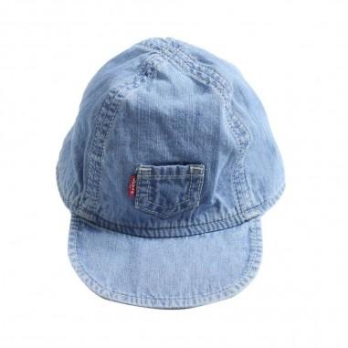 Levi's Cappello jeans neonato con taschino NL90014
