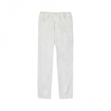 Myths Pantalone bianco bambino 18k01L84