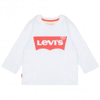 Levi's T-shirt bambino logo basico N91005H