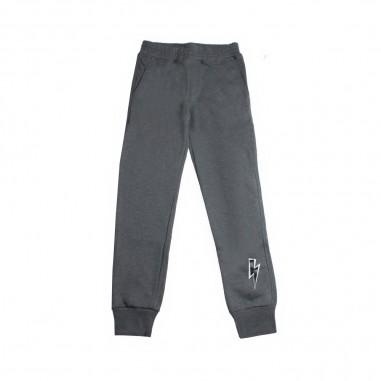 Neil Barrett Kids Pantalone felpa grigio per bambino by Neil Barrett Kids 017994-104