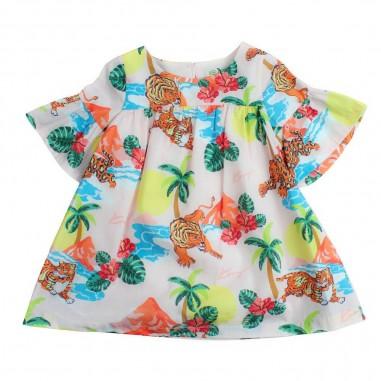 Kenzo Abito colorato hawaii per bambina by Kenzo Kids KN3008832kenzo19