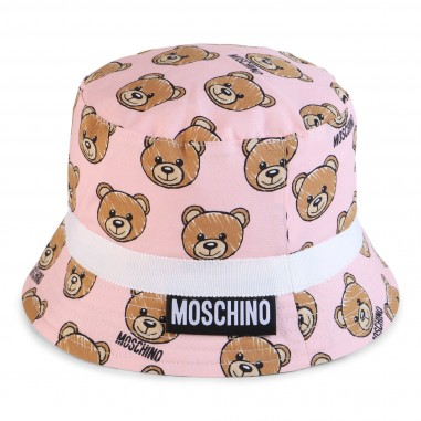 Moschino Kids Cappello pescatore rosa neonata by Moschino Kids MVX032-84002-LMB00