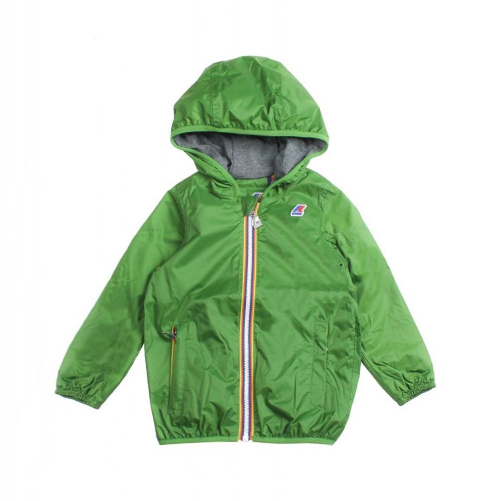 90d6d988f3e Boy green windbreaker jacket by K-way Kids