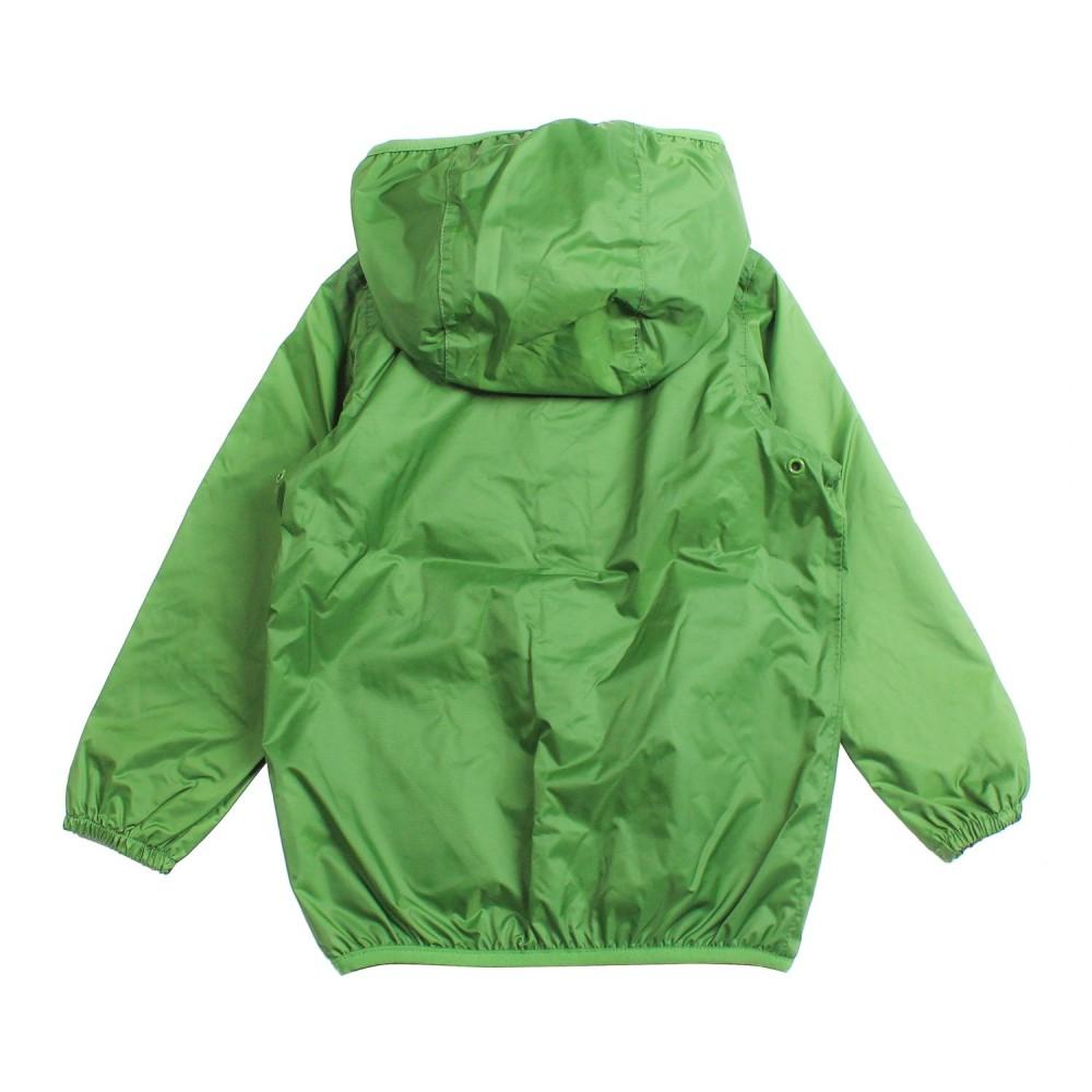 big sale 30e76 fb456 Impermeabile nylon verde bambino by K-way Kids