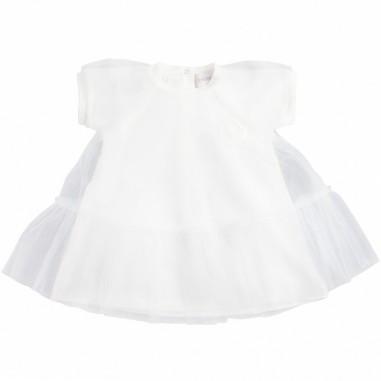 Moncler Abito jersey & tulle per neonata - Moncler Kids 85750058790a034mo19