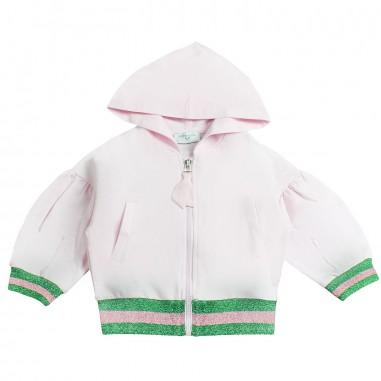 Monnalisa Girl stretch lola sweatshirt by Monnalisa 193802R719-19-0090monna19