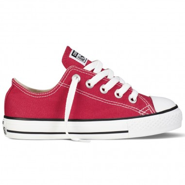 19d0213702 Scarpa Chuck Converse Bambini Taylor All Kids Rossa By Star fb7vgyY6