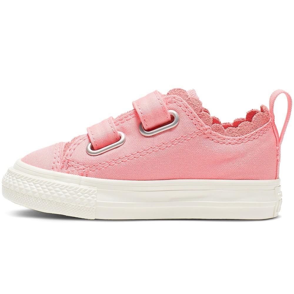 2e47f35681800 ... Scarpa bambina rosa chuck taylor all star 2V by Converse Kids ...