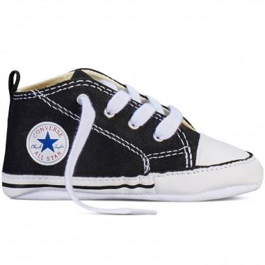 Converse Kids Scarpa neonati nera chuck taylor first star by Converse Kids 8J231conv19