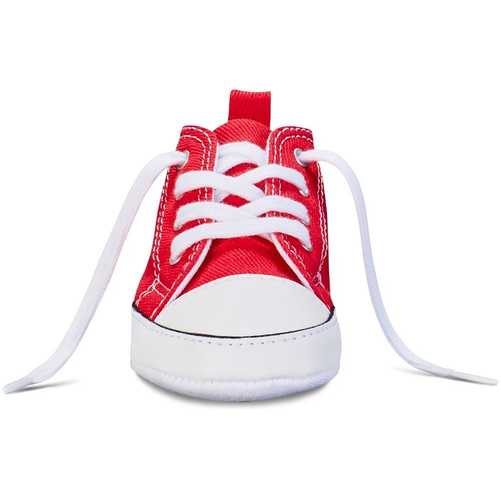 cbf172001052 Scarpa neonati rossa chuck taylor first star by Converse Kids ...