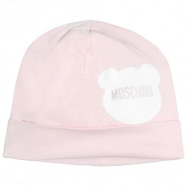 Moschino Kids Cuffietta rosa moschino neonati by Moschino Kids MOX031-LBA00-rosa