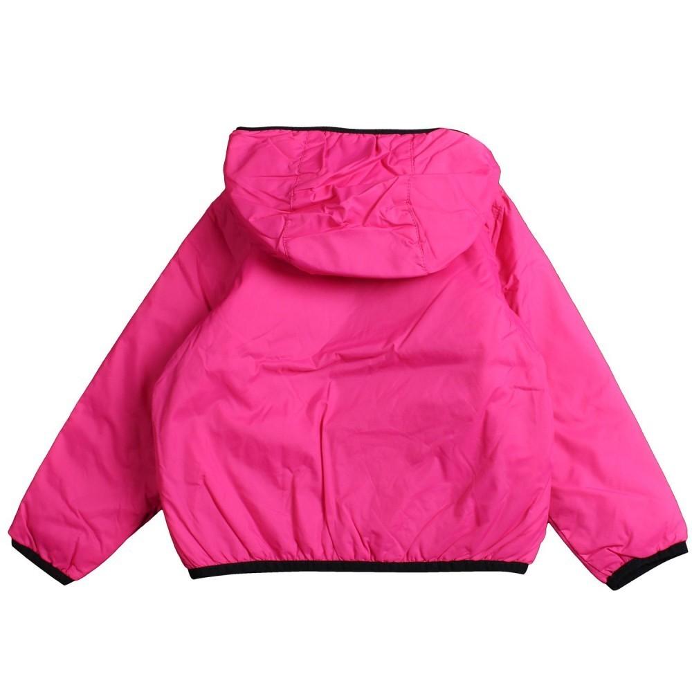 ba33afb3f2d Girl fuchsia windbreaker jacket by K-way Kids