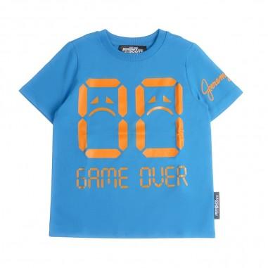 Jeremy Scott Kids T-shirt azzura per bambina by Jeremy Scott Kids j3m001lba0040932