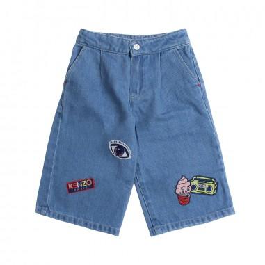 Kenzo Jeans denim largo per bambina by Kenzo Kids KN2203846kenzo19