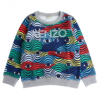 Kenzo Felpa occhi e logo per bambino by Kenzo Kids KN1562892kenzo19