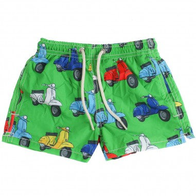5766f7a08f Mc2 Saint Barth Boys Vespa X mc2 saint barth swim trunk by Mc2 Saint Barth  Kids
