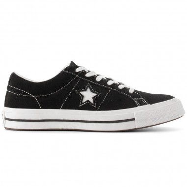 Converse Kids Boys black one star sneakers by Converse Kids 261794Cconv19