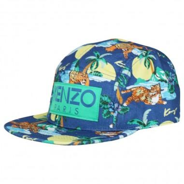 da3668dfabbdc8 Kenzo Cappello blu bambini by Kenzo Kids KN90528-47-kenzo19