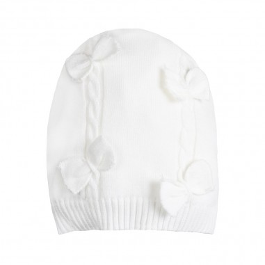 Monnalisa Baby girls bowed hat by Monnalisa 353010-0001-monnalisa19