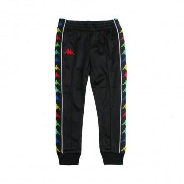 Kappa Kids Pantalone nero bande logo per bambino - Kappa Kids 304keb0a00kappa19