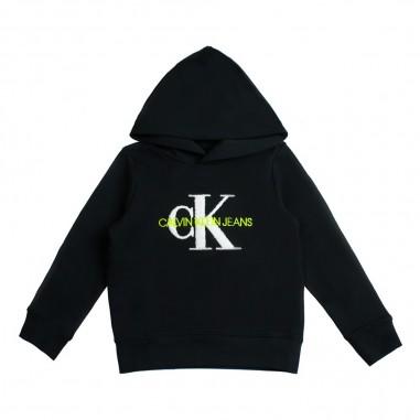 Calvin Klein Jeans Kids Felpa monogram CK bambino by Calvin Klein Kids IB0IB00178-ck29