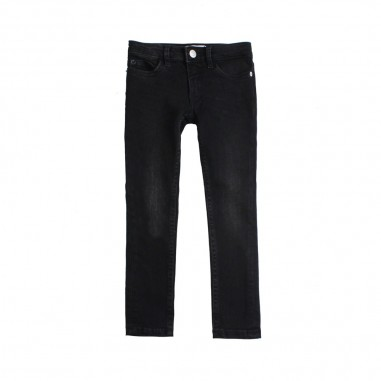 Calvin Klein Jeans Kids Jeans skinny nero bambina by Calvin Klein Kids IG0IG00169-ck29