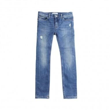 Calvin Klein Jeans Kids Jeans skinny blu bambini by Calvin Klein Kids IG0IG00170-ck29