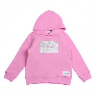 Calvin Klein Jeans Kids Felpa rosa per bambina by Calvin Klein Kids IG0IG00177-ck29