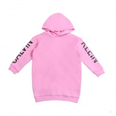 Calvin Klein Jeans Kids Abito rosa per bambina in felpa by Calvin Klein Junior IG0IG00192-ck29