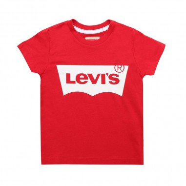Levi's T-shirt rossa basica con logo per bambini by Levi's Kids n91004h03levis19