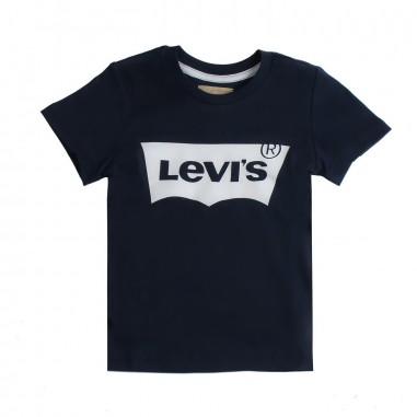Levi's T-shirt blu basica con logo per bambini by Levi's Kids n91004h04levis19