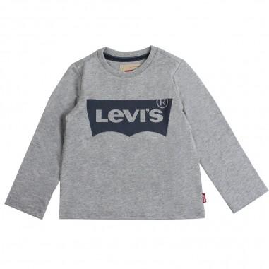 Levi's T-shirt grigia con logo per bambini by Levi's Kids n91005h20levis19