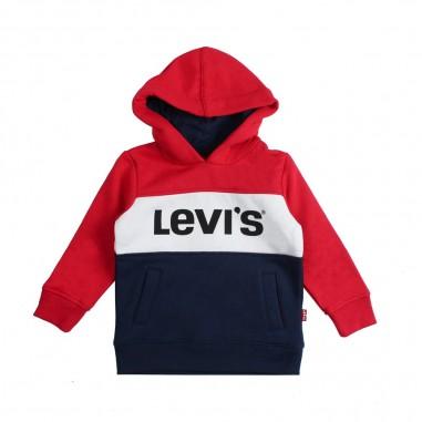 Levi's Felpa tricolore blocky per bambino by Levi's Kids nn1515738levis19