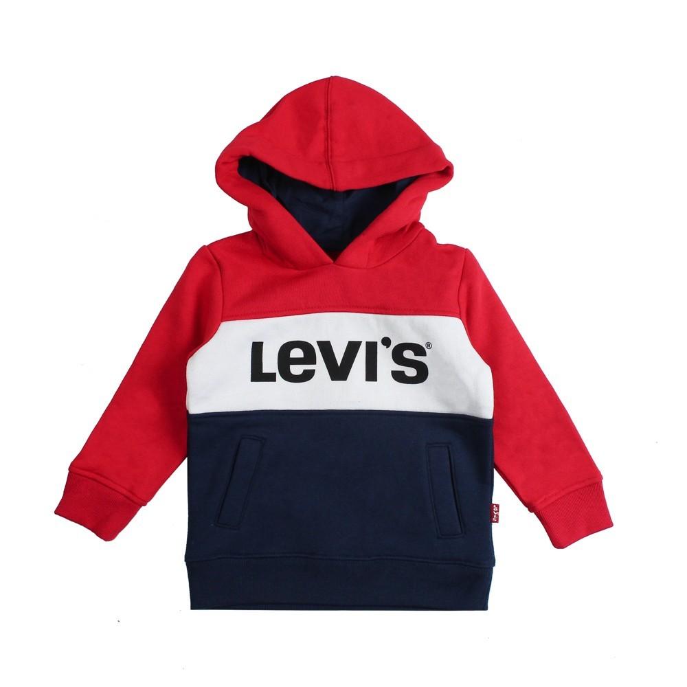 Vendita scontata 2019 acquista il più recente super speciali Felpa tricolore blocky per bambino by Levi's Kids